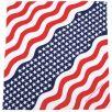 Bandana MFH de algodón en Stars and Stripes 1