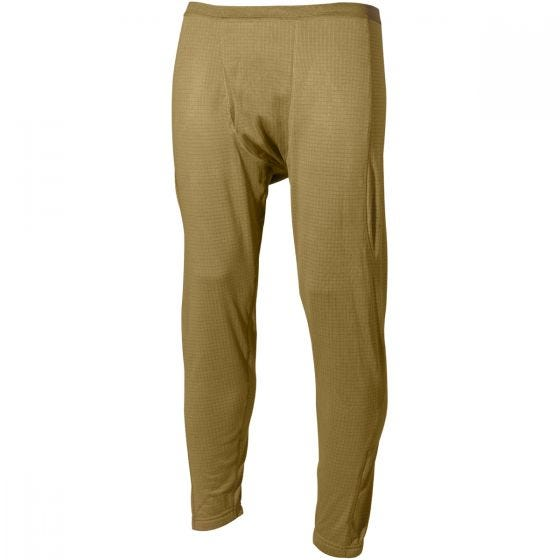 Pantalones interiores MFH US Level II Gen III en Coyote Tan