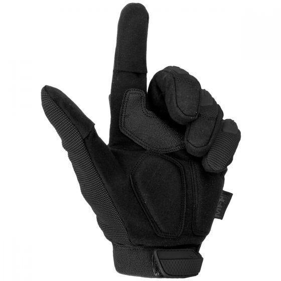 Guantes tácticos MFH Stake en negro