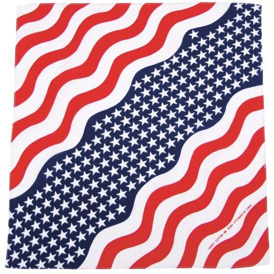 Bandana MFH de algodón en Stars and Stripes