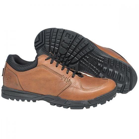 Zapatos 5.11 Pursuit Lace Up en marrón oscuro