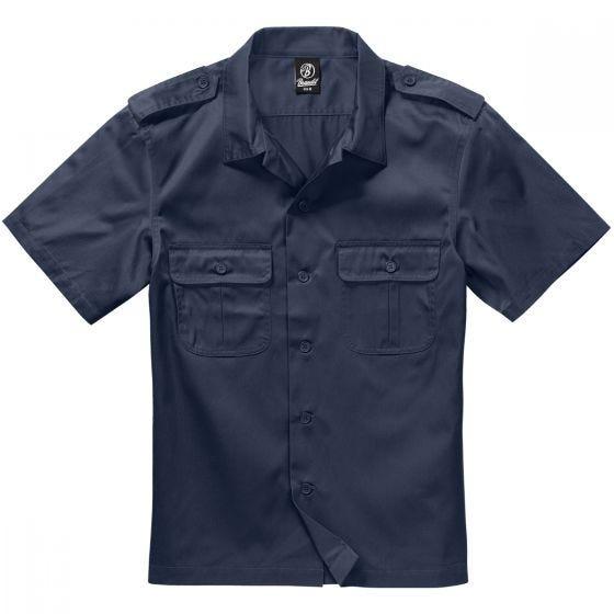 Camisa de manga corta Brandit US en Navy