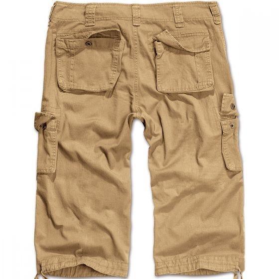 Pantalones piratas Brandit Urban Legend en beige