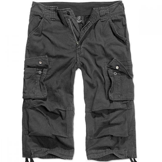 Pantalones piratas Brandit Urban Legend en negro