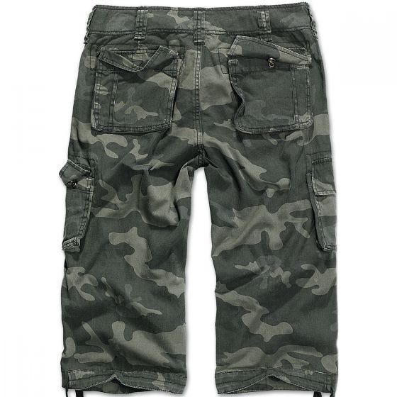 Pantalones piratas Brandit Urban Legend en Dark Camo