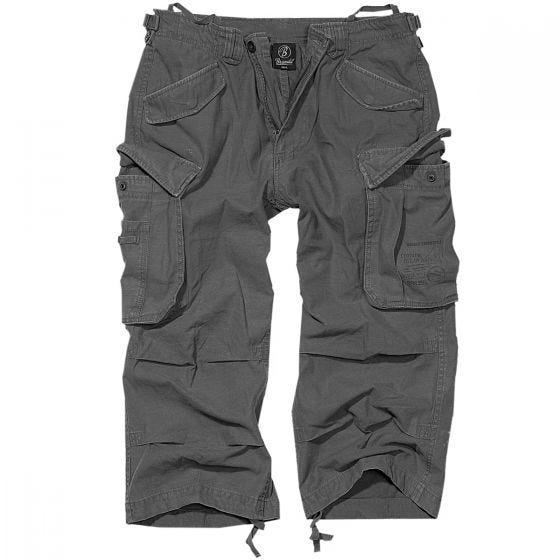 Pantalones pirata Brandit Industry Vintage en Anthracite