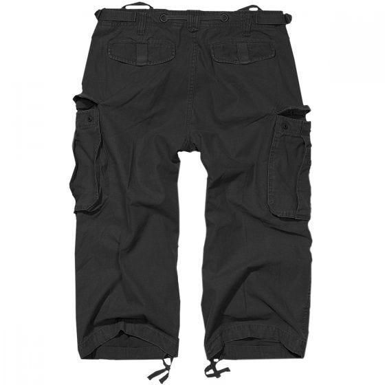 Pantalones pirata Brandit Industry Vintage en negro