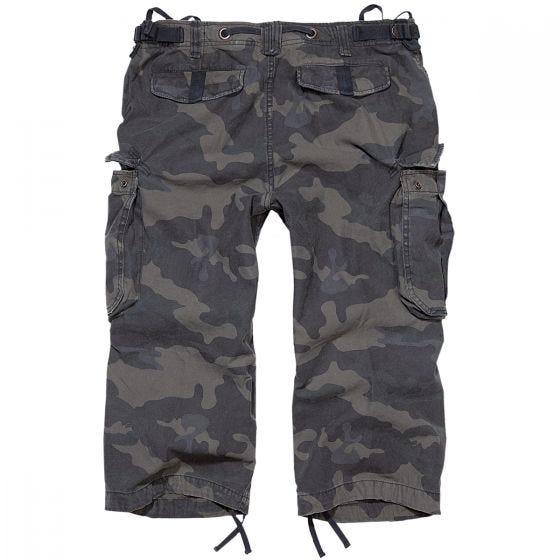 Pantalones pirata Brandit Industry Vintage en Dark Camo