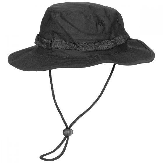 Gorro de pescador MFH GI de Ripstop en negro