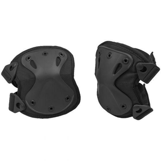 Protectores de rodilla Mil-Tec en negro