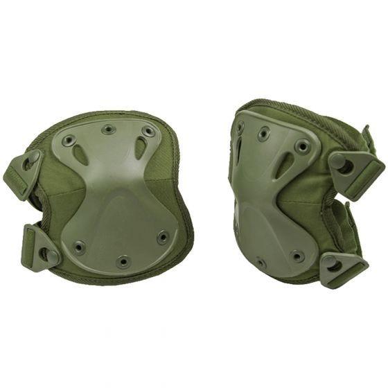 Protectores de rodilla Mil-Tec en verde oliva