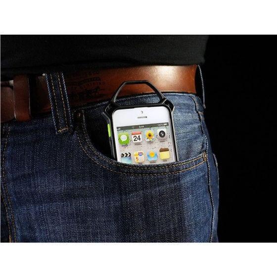 Funda para iPhone 5 Strike Industries en Shox Pink