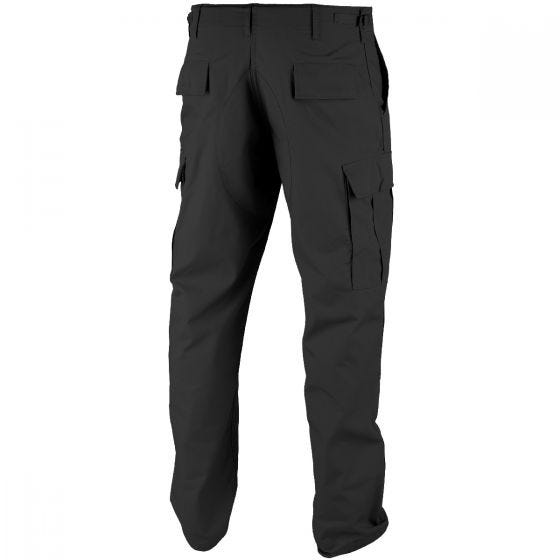 Pantalones Teesar BDU de Ripstop en negro