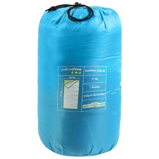 Saco de dormir Yellowstone Comfort 200 XL en azul