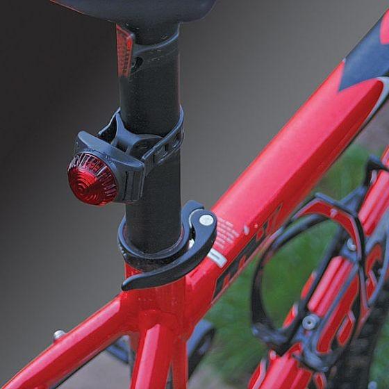 Luz LED para bicicleta Adventure Lights Guardian en rojo