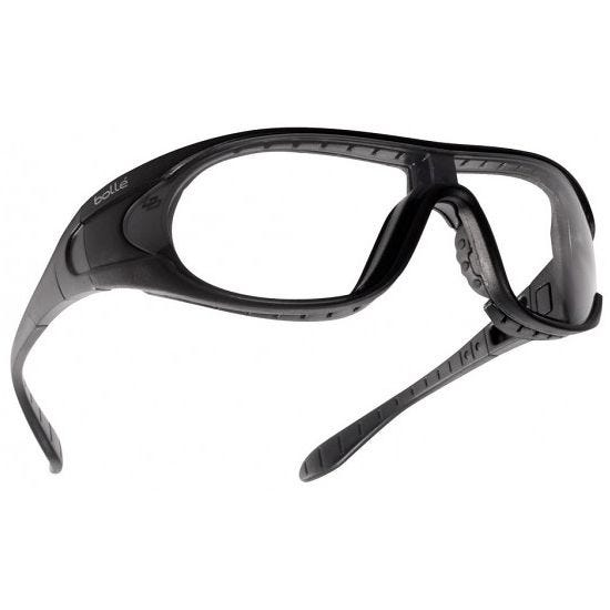 Gafas balísticas Bolle Raider lentes transparentes + ahumadas + amarillas / montura en negro