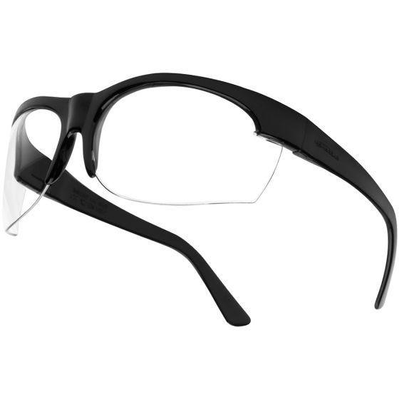 Gafas Bolle Super Nylsun III con lentes transparentes y montura en negro