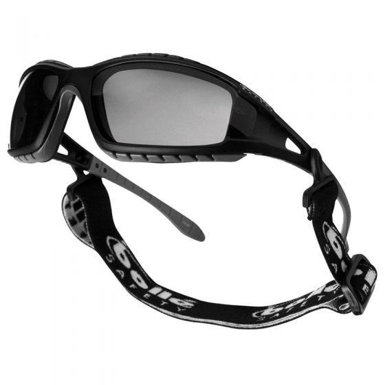 Gafas Bolle Tracker con lentes ahumadas y montura en negro
