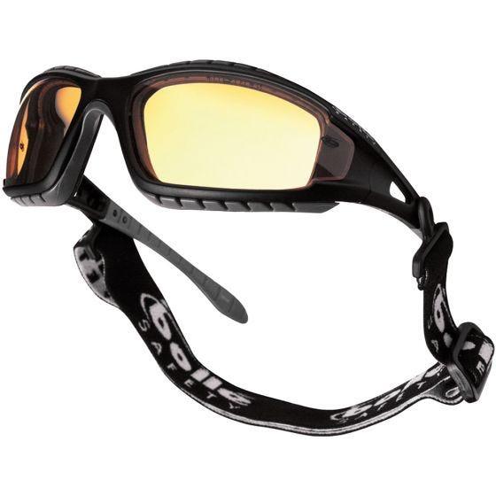 Gafas Bolle Tracker con lentes amarillas y montura en negro