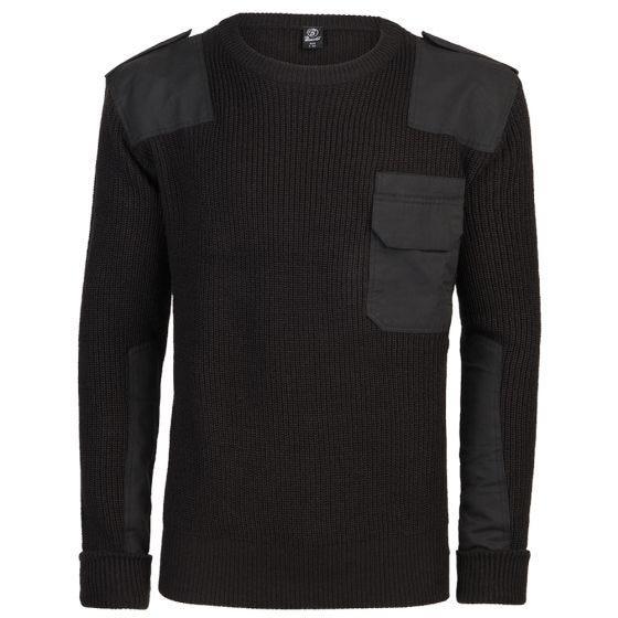 Jersey Brandit BW en negro