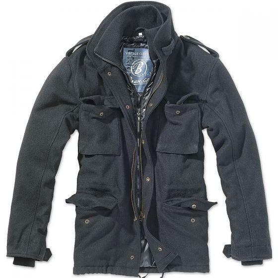Chaqueta de lana Brandit M-65 Voyager en negro