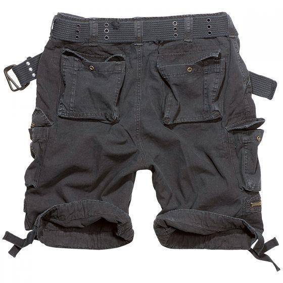 Pantalones cortos Brandit Savage Vintage en negro