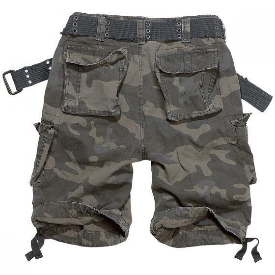 Pantalones cortos Brandit Savage Vintage en Dark Camo
