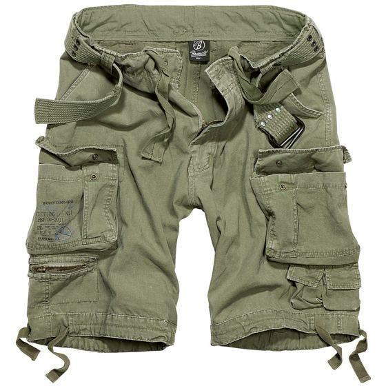 Pantalones cortos Brandit Savage Vintage en verde oliva
