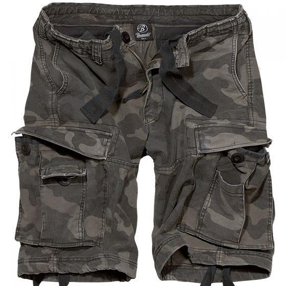 Pantalones cortos Brandit Vintage Classic en Dark Camo