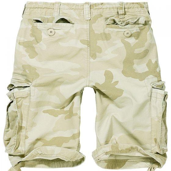 Pantalones cortos Brandit Vintage Classic en verde Sandstorm