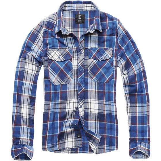 Camisa Brandit Check en Navy