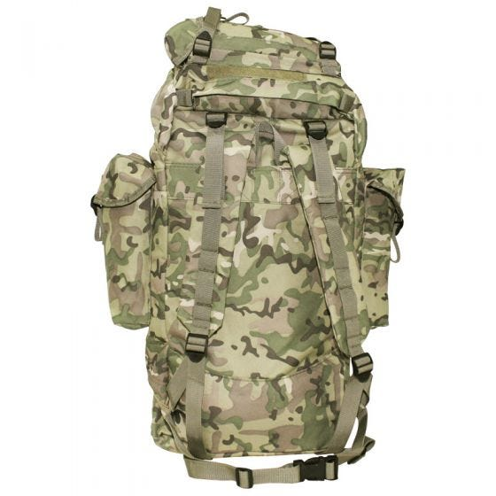 Mochila MFH German Army de 65 L en Operation Camo