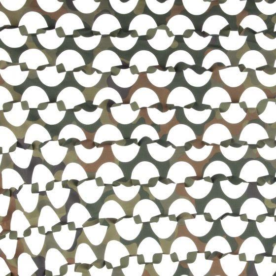 Red de camuflaje en 3D Camosystems Ultra-lite 6 x 2,2 m en Flecktarn