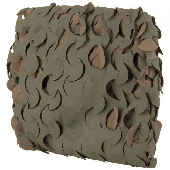 Red de camuflaje Camosystems Basic Series Ultra-lite en Woodland de 3 x 1,4 m