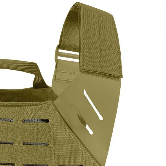 Chaleco portaplacas Condor Elite LCS Vanquish en Coyote Brown