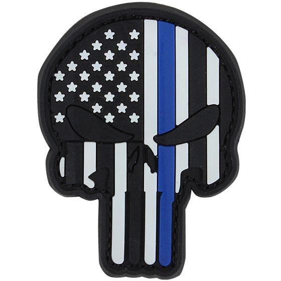 Parche de PVC Condor Punisher en azul