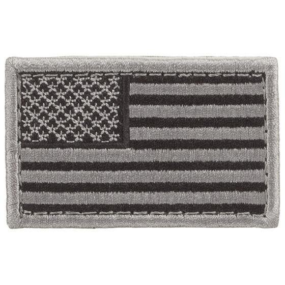 Parche con la bandera de EE.UU. Condor en color aluminio