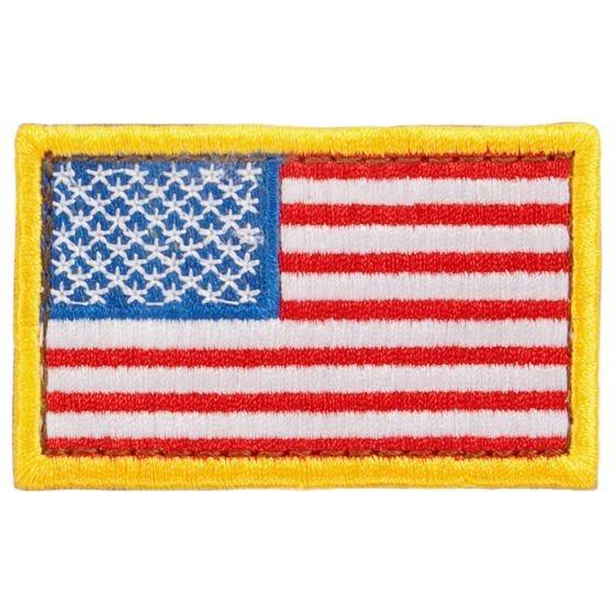 Parche con la bandera de EE.UU. Condor en rojo, blanco y azul