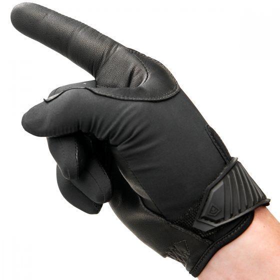 Guantes ligeros de patrulla para hombre First Tactical en negro
