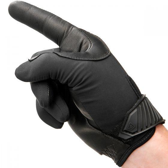 Guantes de servicio acolchados para hombre First Tactical de tamaño mediano en negro