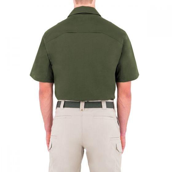 Camiseta de manga corta para hombre BDU First Tactical Specialist en OD Green