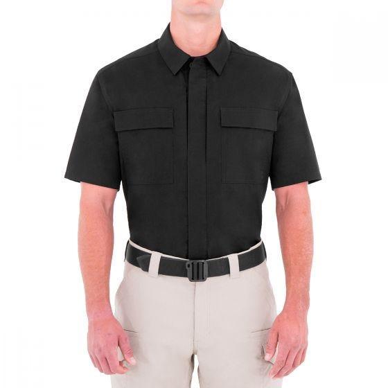 Camiseta de manga corta para hombre BDU First Tactical Tactix en negro