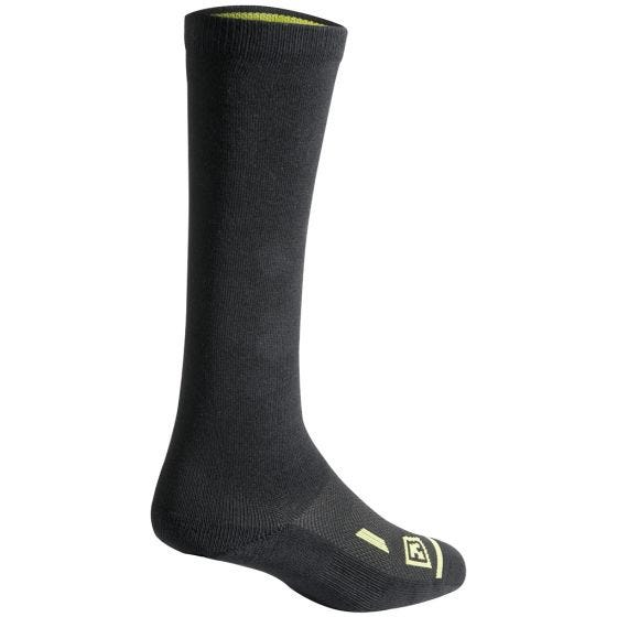 "3 pares de calcetines de algodón First Tactical Duty de 9"" en negro"