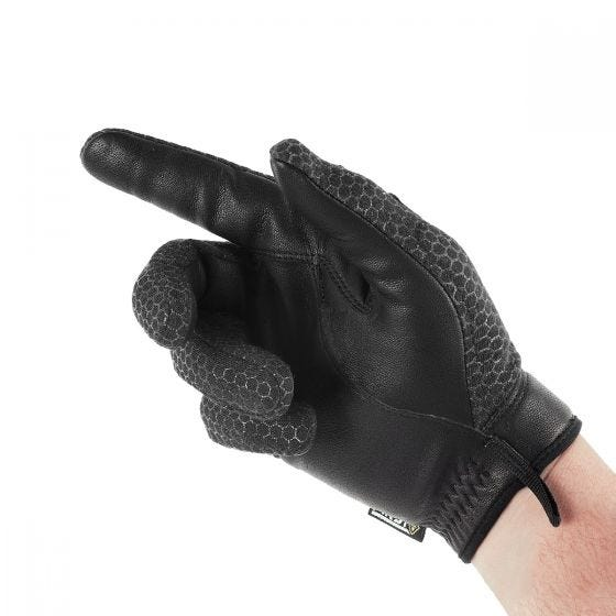 Guantes con nudillos rígidos para hombre First Tactical Slash & Flash en negro