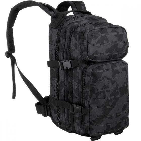 Mochila MFH Assault I Laser en Night Camo