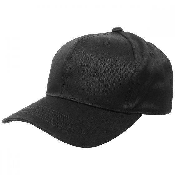 Gorra de béisbol MFH en negro