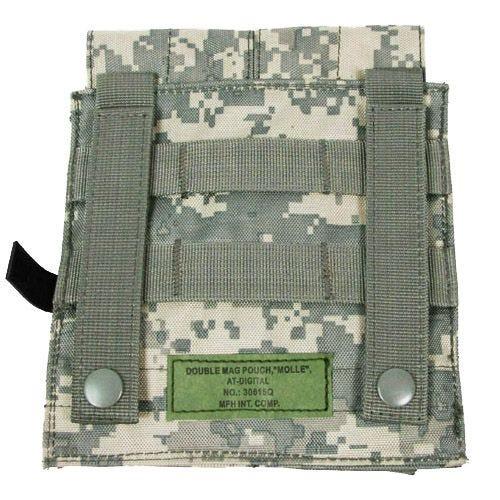 Portacargador doble MFH M4/M16 con sistema MOLLE en ACU Digital