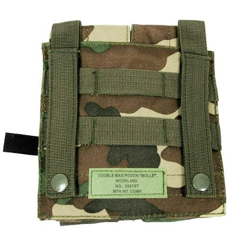 Portacargador doble MFH M4/M16 en Woodland