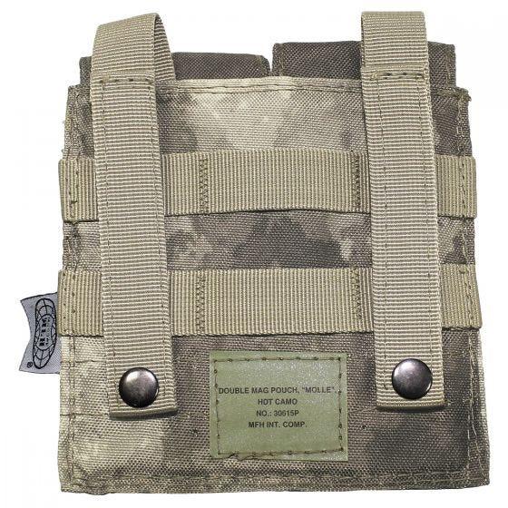 Portacargador doble MFH M4/M16 en HDT Camo AU