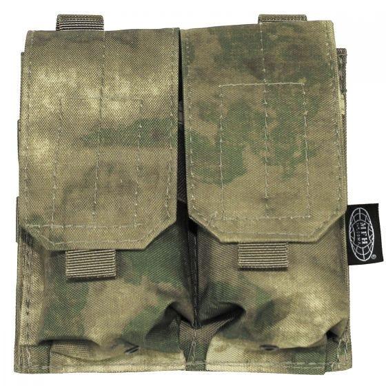 Portacargador doble MFH M4/M16 en HDT Camo FG